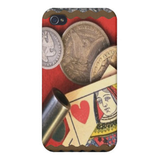 Reina del oeste salvaje de la caja iPhone4 de la m iPhone 4 Coberturas