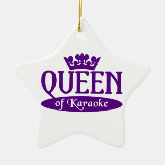 Reina del ornamento del Karaoke Ornatos