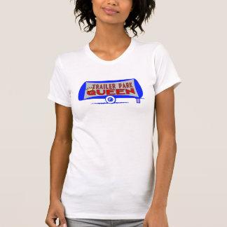 Reina del parque de caravanas camiseta