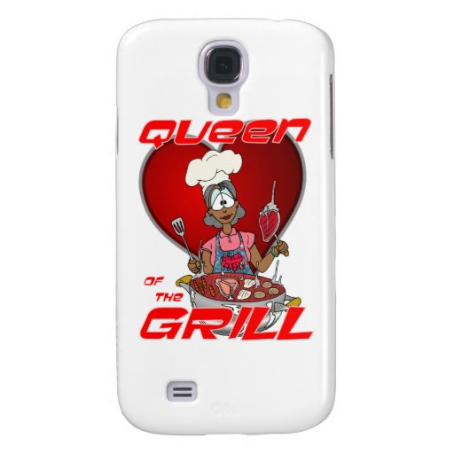 Reina del Parrilla-Negro Funda Para Galaxy S4