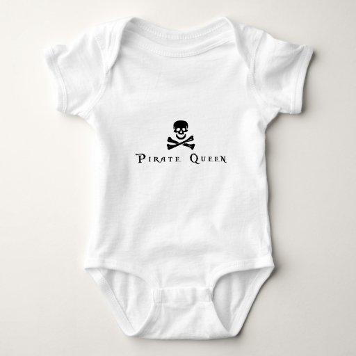 Reina del pirata mameluco de bebé