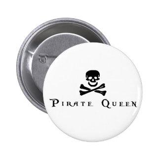 Reina del pirata pin