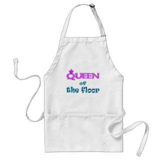 Reina del piso delantal