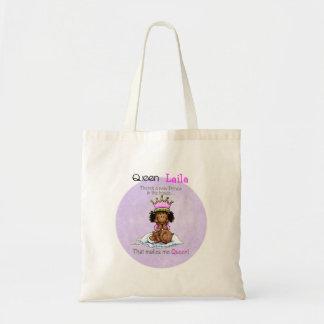 Reina del príncipe - bolso afroamericano de la her bolsas lienzo