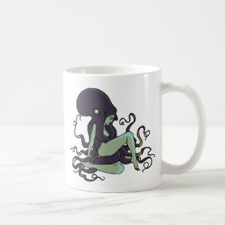 Reina del pulpo taza de café