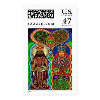 Reina del rey n sellos postales