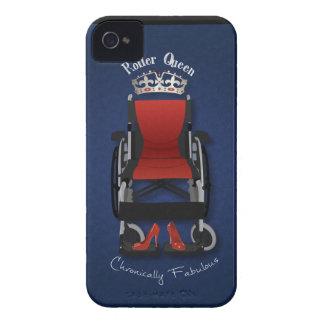 Reina del rodillo iPhone 4 Case-Mate protector