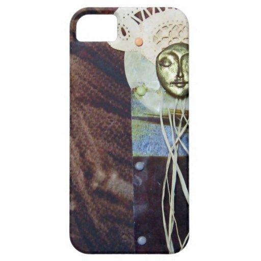 Reina del solsticio - collage iPhone 5 funda