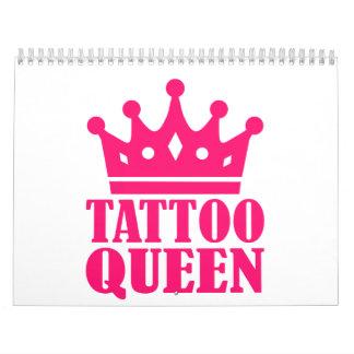 Reina del tatuaje calendarios