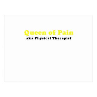 Reina del terapeuta físico del dolor aka tarjetas postales