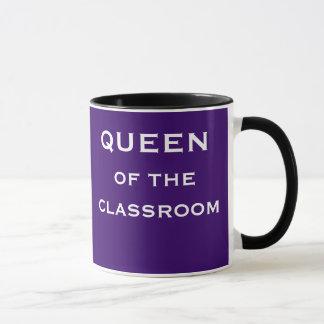 Reina del título femenino especial del profesor de taza