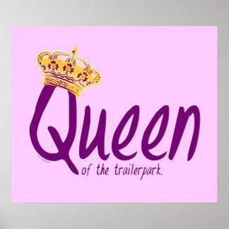 Reina del Trailerpark Posters