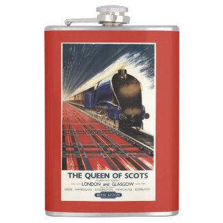 Reina del tren escocés del pullman