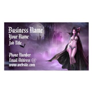 Reina del vampiro de Azmodeus, tarjeta de visita