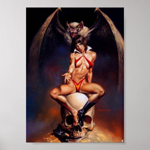 reina del vampiro póster