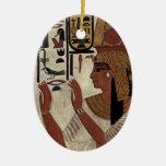 Reina egipcia antigua [Nefertari] Ornamentos Para Reyes Magos