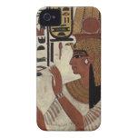Reina egipcia antigua [Nefertari] iPhone 4 Case-Mate Funda