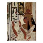 Reina egipcia antigua [Nefertari] Postal