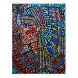 Reina egipcia postal
