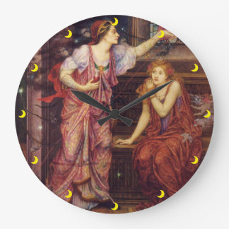 Reina Eleanor y reloj justo de Rosamund en 3 tamañ