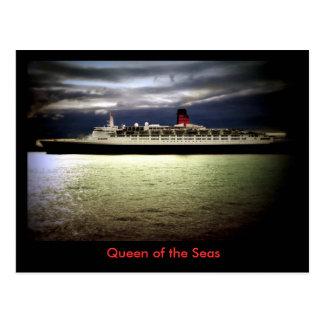 Reina Elizabeth 2 del RMS Postales