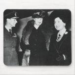 Reina Elizabeth de rey George VI de Eleanor Roosev Alfombrillas De Ratones