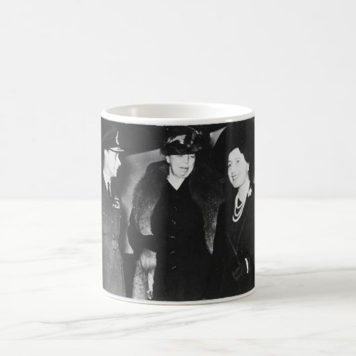 Reina Elizabeth de rey George VI de Eleanor Roosev Taza De Café