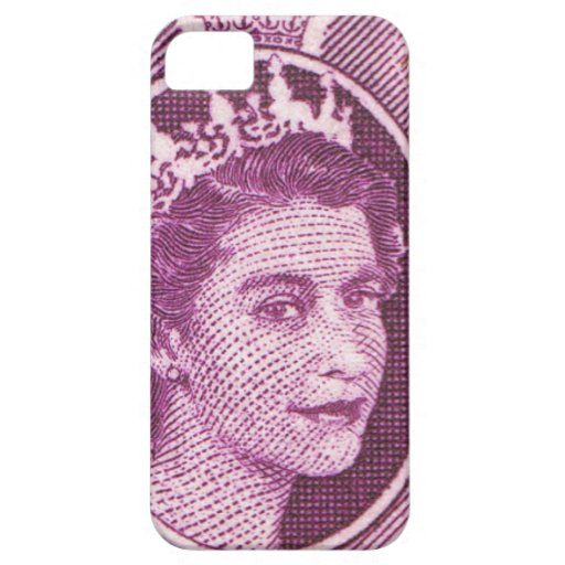 Reina Elizabeth Fiji del vintage Funda Para iPhone 5 Barely There