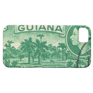 Reina Elizabeth Guayana del vintage iPhone 5 Fundas