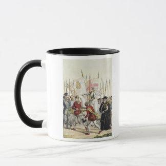 Reina Elizabeth I (1530-1603) que reúne a las Taza