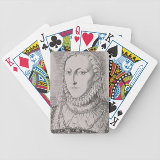 Reina Elizabeth I (1533-1603), c.1572-75 (engravin Barajas De Cartas