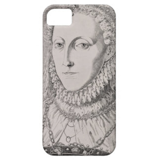 Reina Elizabeth I (1533-1603), c.1572-75 (engravin iPhone 5 Fundas