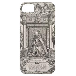 Reina Elizabeth I (1533-1603) como patrón de iPhone 5 Carcasas