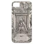 Reina Elizabeth I (1533-1603) como patrón de Geogr iPhone 5 Protectores