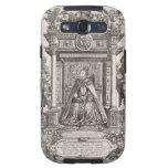 Reina Elizabeth I (1533-1603) como patrón de Geogr Galaxy S3 Protector