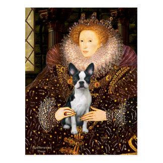 Reina Elizabeth I - Boston T #1 Postal
