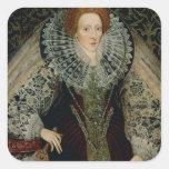 Reina Elizabeth I, c.1585-90 Colcomania Cuadrada
