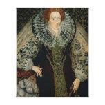 Reina Elizabeth I, c.1585-90 Impresión De Lienzo