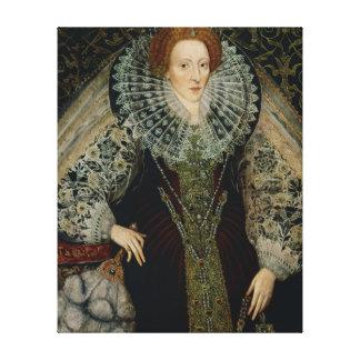 Reina Elizabeth I, c.1585-90 Impresiones En Lona Estiradas