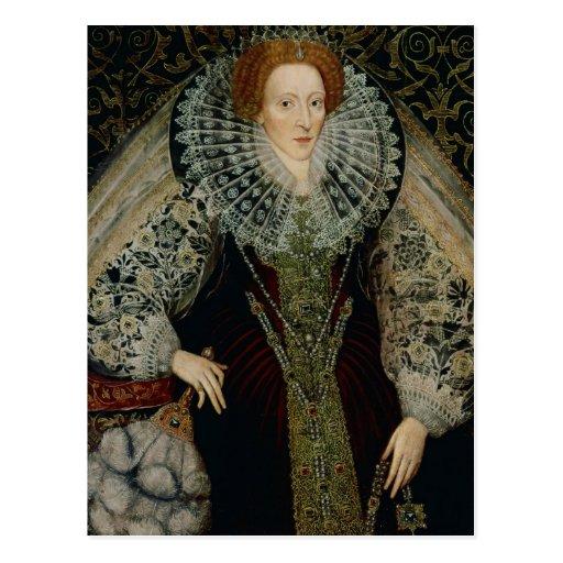 Reina Elizabeth I, c.1585-90 Postales