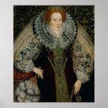 Reina Elizabeth I, c.1585-90 Poster