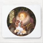 Reina Elizabeth I - caballeros de Blenheim Tapete De Ratones