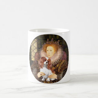 Reina Elizabeth I - caballeros de Blenheim Taza De Café