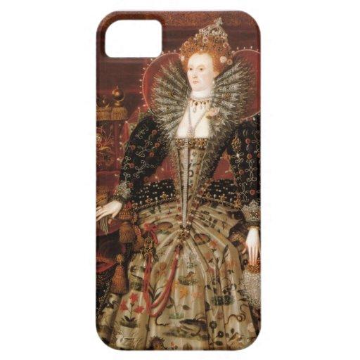 Reina Elizabeth I de Inglaterra iPhone 5 Case-Mate Protector