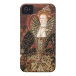 Reina Elizabeth I de Inglaterra iPhone 4 Case-Mate Protectores