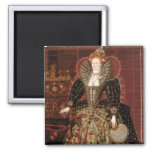Reina Elizabeth I de Inglaterra Imanes Para Frigoríficos