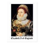 Reina Elizabeth I de Inglaterra Postales