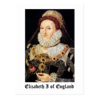 Reina Elizabeth I de Inglaterra Tarjetas Postales