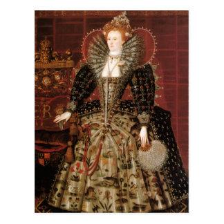Reina Elizabeth I de Inglaterra Tarjeta Postal