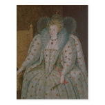 Reina Elizabeth I de Inglaterra y de Irlanda Tarjetas Postales